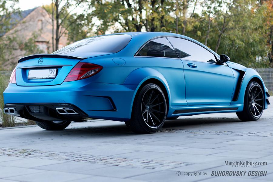 Mercedes Benz CL C216 SR66 Design Widebody Tuning 9 Mercedes Benz CL (C216) mit SR66 Design Widebody Kit