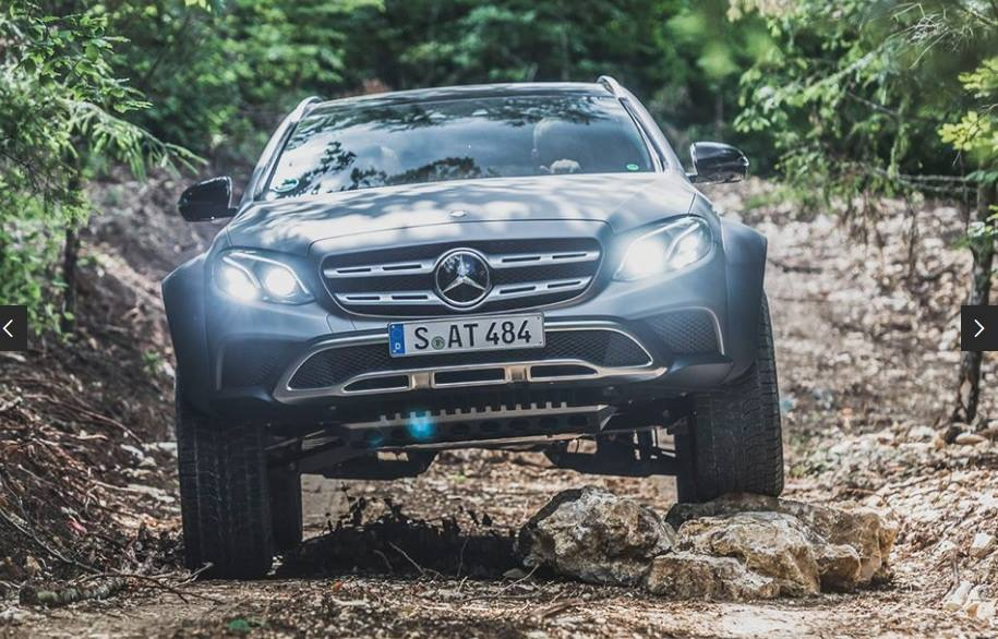 Mercedes E Klasse All Terrain 4x4² W213 Tuning 1 Audi Allroad   was ist das? Mercedes E Klasse All Terrain 4x4²