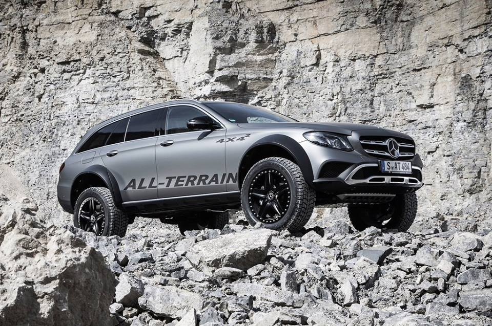 Mercedes E Klasse All Terrain 4x4² W213 Tuning 3 Audi Allroad   was ist das? Mercedes E Klasse All Terrain 4x4²