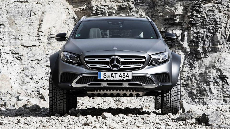 Mercedes E Klasse All Terrain 4x4² W213 Tuning 5 Audi Allroad   was ist das? Mercedes E Klasse All Terrain 4x4²
