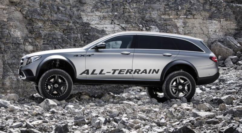Mercedes E Klasse All Terrain 4x4² W213 Tuning 6 Audi Allroad   was ist das? Mercedes E Klasse All Terrain 4x4²