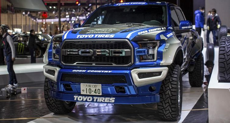 Xxxl Format Pandem Ford F 150 Raptor Mit Widebody