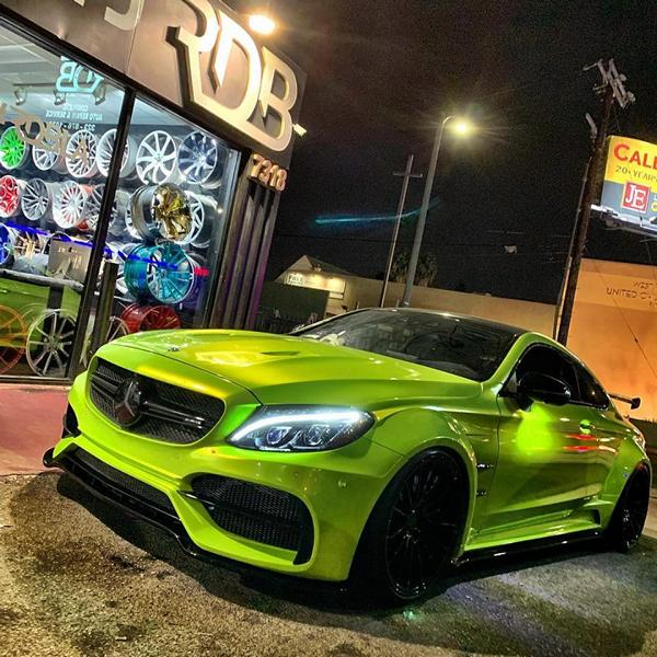 RDBLA Mercedes C63s AMG PD65CC Widebody ZITO ZS15 Tuning 1 RDBLA Mercedes C63s AMG mit PD65CC Widebody Kit