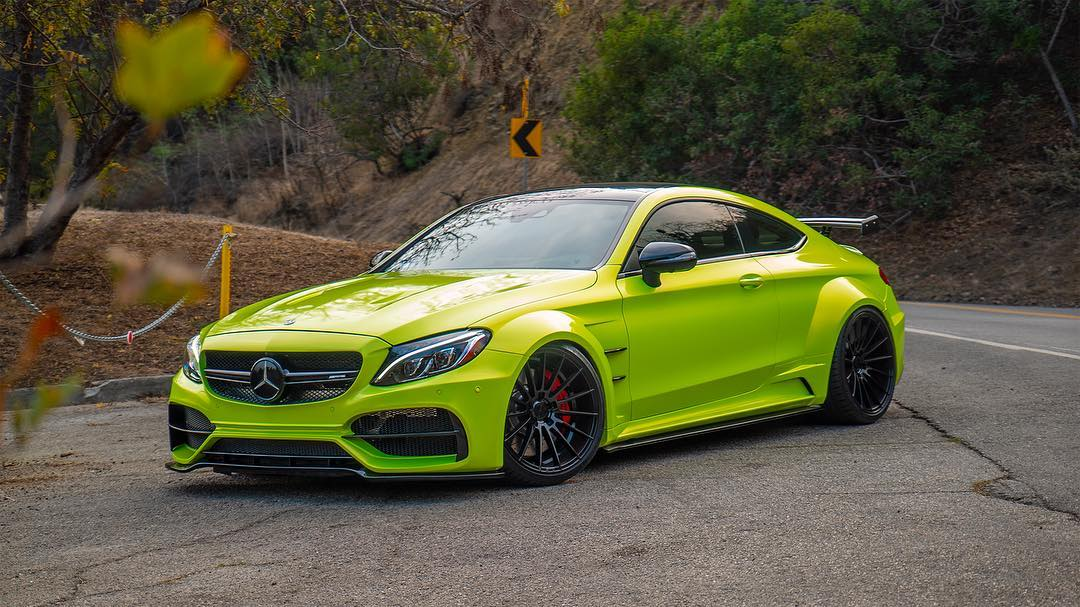 RDBLA Mercedes C63s AMG PD65CC Widebody ZITO ZS15 Tuning 3 RDBLA Mercedes C63s AMG mit PD65CC Widebody Kit