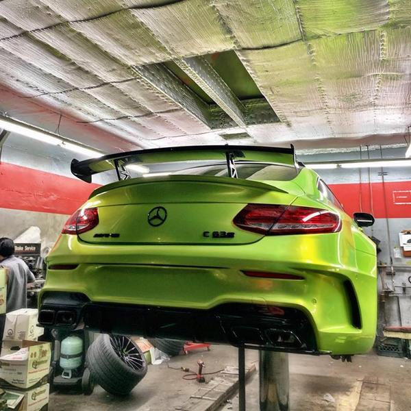 RDBLA Mercedes C63s AMG PD65CC Widebody ZITO ZS15 Tuning 4 RDBLA Mercedes C63s AMG mit PD65CC Widebody Kit