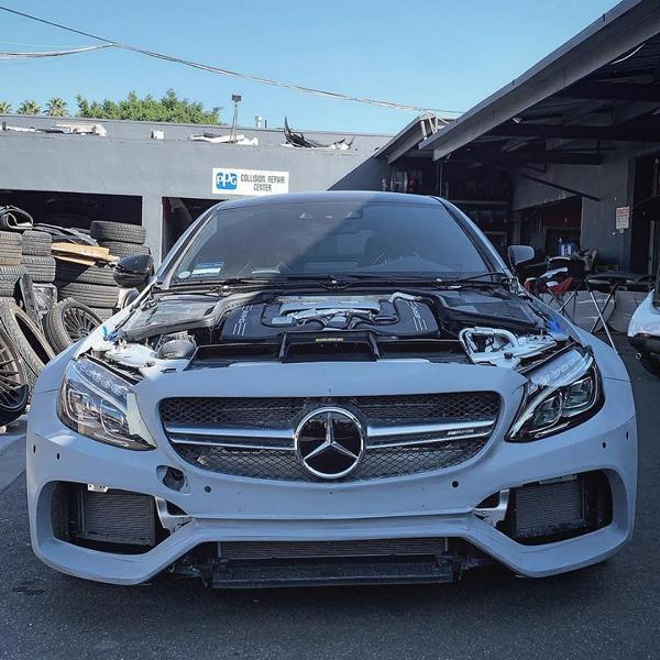 RDBLA Mercedes C63s AMG PD65CC Widebody ZITO ZS15 Tuning 6 RDBLA Mercedes C63s AMG mit PD65CC Widebody Kit
