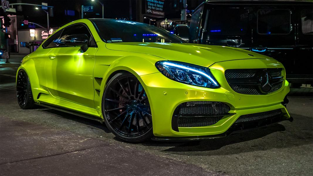 RDBLA Mercedes C63s AMG PD65CC Widebody ZITO ZS15 Tuning 7 RDBLA Mercedes C63s AMG mit PD65CC Widebody Kit