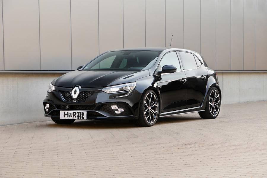 Renault Megane RS Sportfedern Tuning 1 French Connection: H&R Sportfedern im neuen Renault Mégane RS