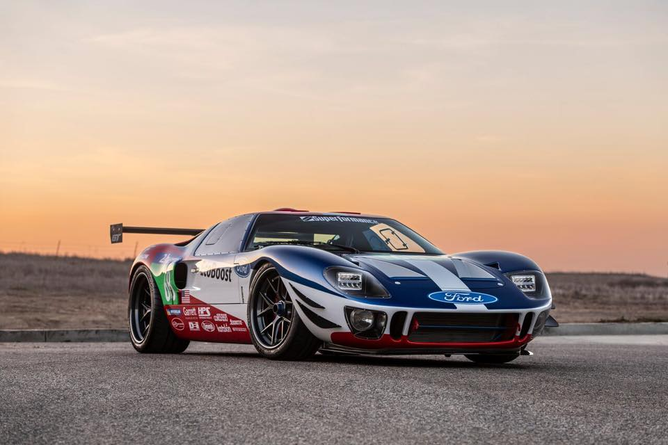 Replika Ford GT40 EcoBoost V6 Superformance Future GT Forty Tuning 2 Replika Ford GT40 EcoBoost V6 vom Tuner Superformance