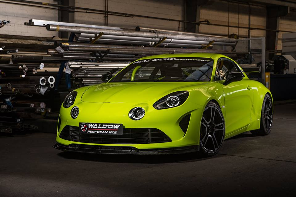 WP300 Alpine A110 Waldow Performance Tuning 1 WP300 Leichtgewicht Alpine A110 von Waldow Performance
