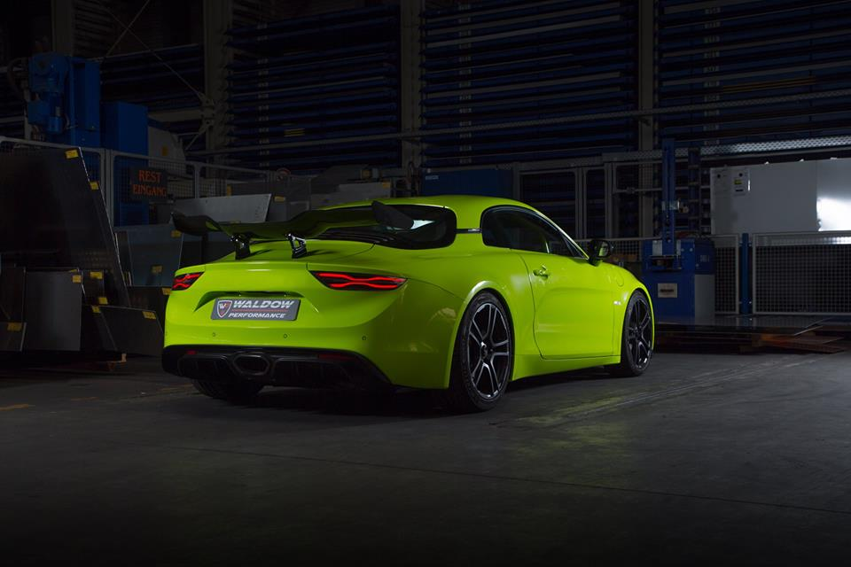 WP300 Alpine A110 Waldow Performance Tuning 2 WP300 Leichtgewicht Alpine A110 von Waldow Performance