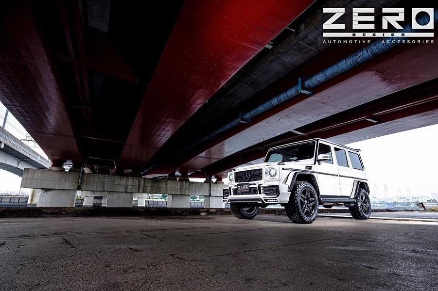 ZERO Design Bodykit Mercedes G63 AMG Tuning 10 Gewaltig: ZERO Design Bodykit am Mercedes G63 AMG