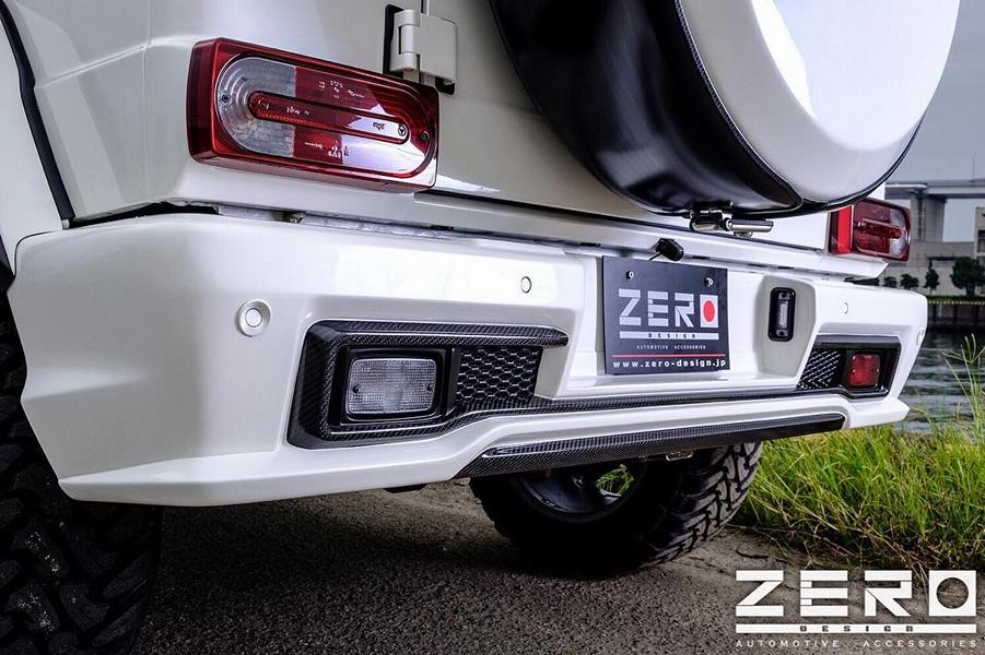 ZERO Design Bodykit Mercedes G63 AMG Tuning 7 Gewaltig: ZERO Design Bodykit am Mercedes G63 AMG
