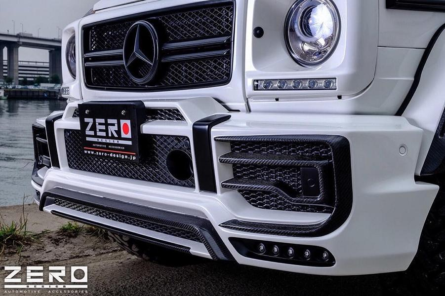 ZERO Design Bodykit Mercedes G63 AMG Tuning 8 Gewaltig: ZERO Design Bodykit am Mercedes G63 AMG