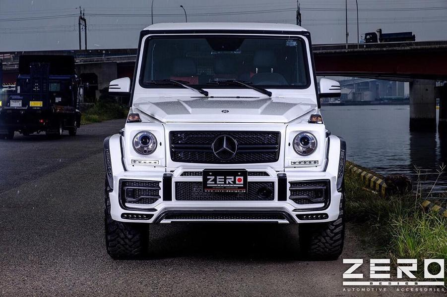 ZERO Design Bodykit Mercedes G63 AMG Tuning 9 Gewaltig: ZERO Design Bodykit am Mercedes G63 AMG