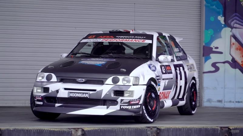 ken block Ford Escort Cosworth Nach Crash: Ken Block baut am neuen Ford Escort Cosworth!