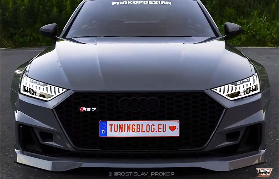 2019 Audi Rs7 E C8 Sportback Widebody With 900 Ps