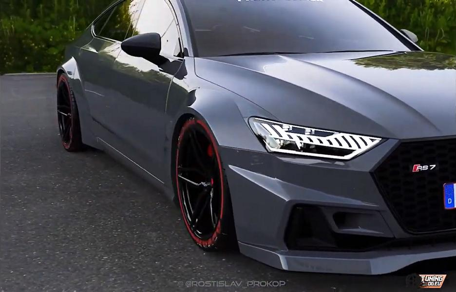"""2019 Audi RS7 E (C8) Sportback """"Widebody"""" with 900 PS"""