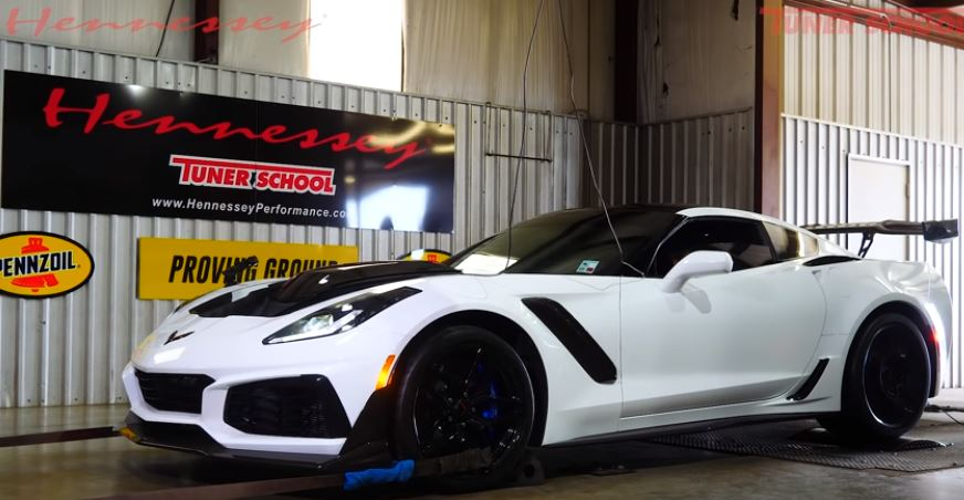 2019 Corvette ZR1 HPE850 von Hennessey Performance 2 Video: 2019 Corvette ZR1 HPE850 von Hennessey Performance