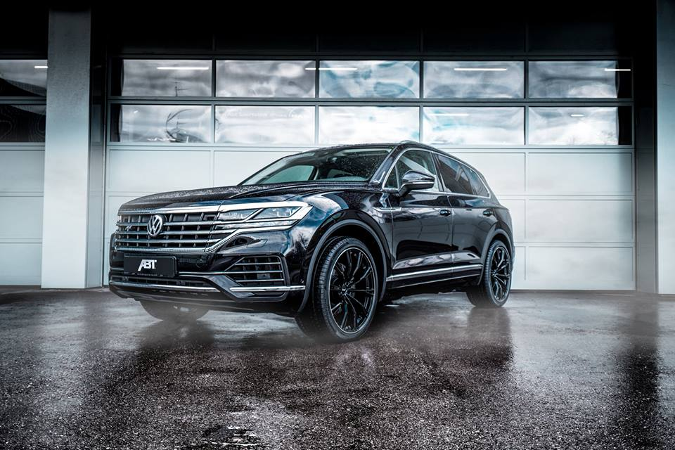 abt sport gr felgen am neuen vw touareg typ cr. Black Bedroom Furniture Sets. Home Design Ideas