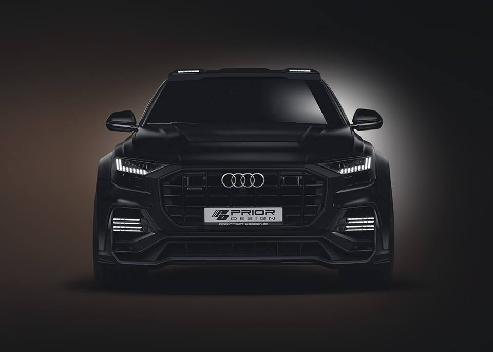 AUDI Q8 Widebody Aero Kit Prior Design PD880 PD800 Tuning Vorschau: AUDI Q8 Widebody Aero Kit von Prior Design