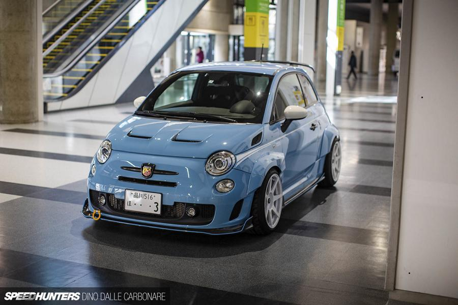 Abarth 595 Turismo Fiat 500 Carbon Widebody Kit Tuning 1 Abarth 595 Turismo (Fiat 500) mit Carbon Widebody Kit