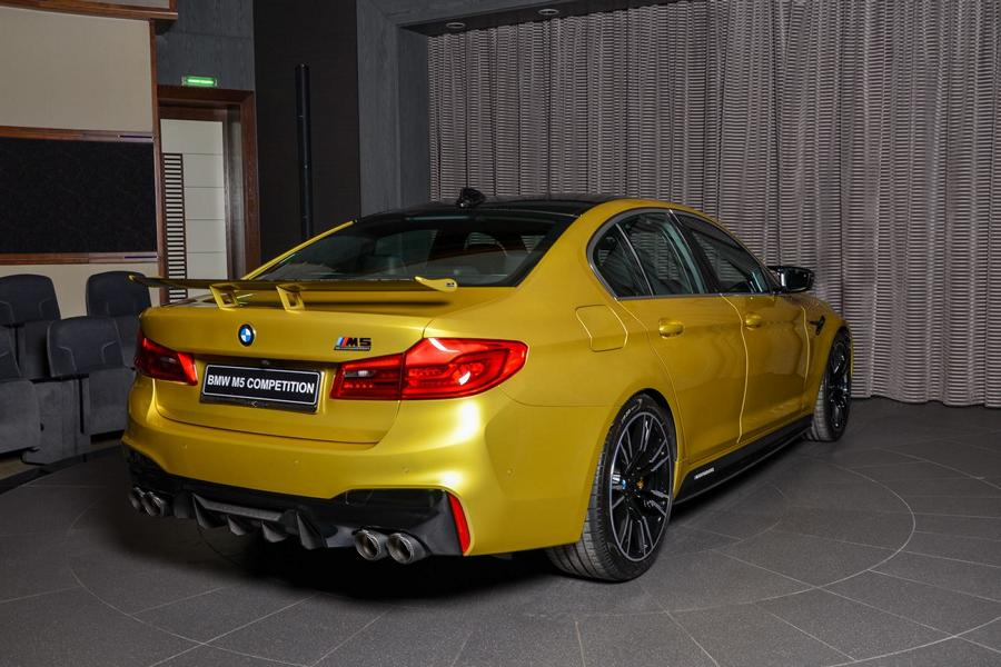Austin Yellow BMW M5 Competition F90 Schnitzer Tuning 10 Austin Yellow: BMW M5 Competition F90 von Abu Dhabi Motors