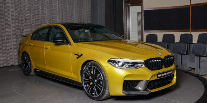Austin Yellow: BMW M5 Competition F90 von Abu Dhabi Motors