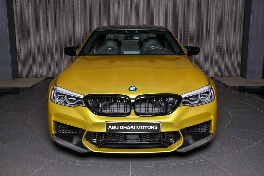 Austin Yellow BMW M5 Competition F90 Schnitzer Tuning 4 Austin Yellow: BMW M5 Competition F90 von Abu Dhabi Motors