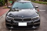 BMW G30 540i Limousine HRE FF01 Carbon Bodykit Tuning 11 155x103 BMW G30 540i Limousine auf HRE FF01 Schmiedefelgen