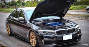 BMW G30 540i Limousine HRE FF01 Carbon Bodykit Tuning 14 310x165 BMW G30 540i Limousine auf HRE FF01 Schmiedefelgen