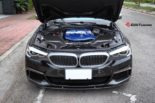 BMW G30 540i Limousine HRE FF01 Carbon Bodykit Tuning 22 155x103 BMW G30 540i Limousine auf HRE FF01 Schmiedefelgen