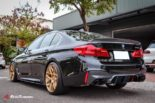 BMW G30 540i Limousine HRE FF01 Carbon Bodykit Tuning 25 155x103 BMW G30 540i Limousine auf HRE FF01 Schmiedefelgen