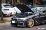 BMW G30 540i Limousine HRE FF01 Carbon Bodykit Tuning 27 155x103 BMW G30 540i Limousine auf HRE FF01 Schmiedefelgen