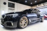 BMW G30 540i Limousine HRE FF01 Carbon Bodykit Tuning 32 155x103 BMW G30 540i Limousine auf HRE FF01 Schmiedefelgen