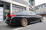BMW G30 540i Limousine HRE FF01 Carbon Bodykit Tuning 36 155x103 BMW G30 540i Limousine auf HRE FF01 Schmiedefelgen