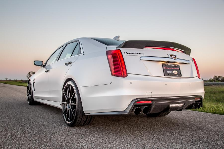 Cadillac CTS V HPE1000 Hennessey Performance Tuning 2 Cadillac CTS V mit 1.000PS von Hennessey Performance