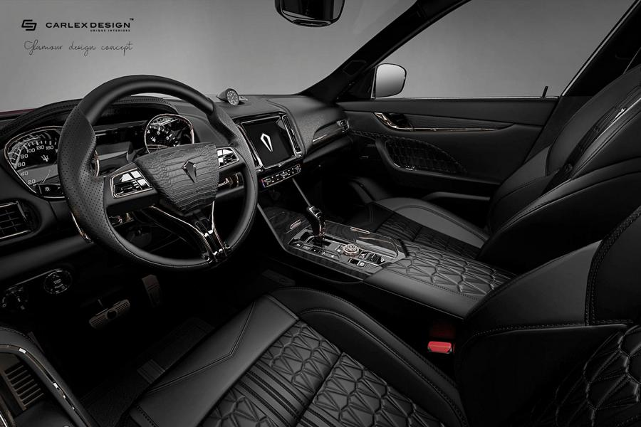 Carlex Design Maserati Levante Interieur 1 Black Beauty   Carlex Design Maserati Levante Interieur