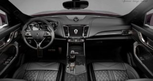 Carlex Design Maserati Levante Interieur 4 310x165 Black Beauty   Carlex Design Maserati Levante Interieur