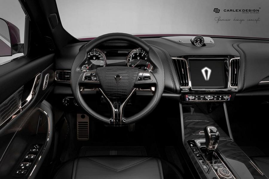 Carlex Design Maserati Levante Interieur 5 Black Beauty   Carlex Design Maserati Levante Interieur