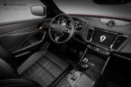 Carlex Design Maserati Levante Interieur 6 190x127 Black Beauty   Carlex Design Maserati Levante Interieur