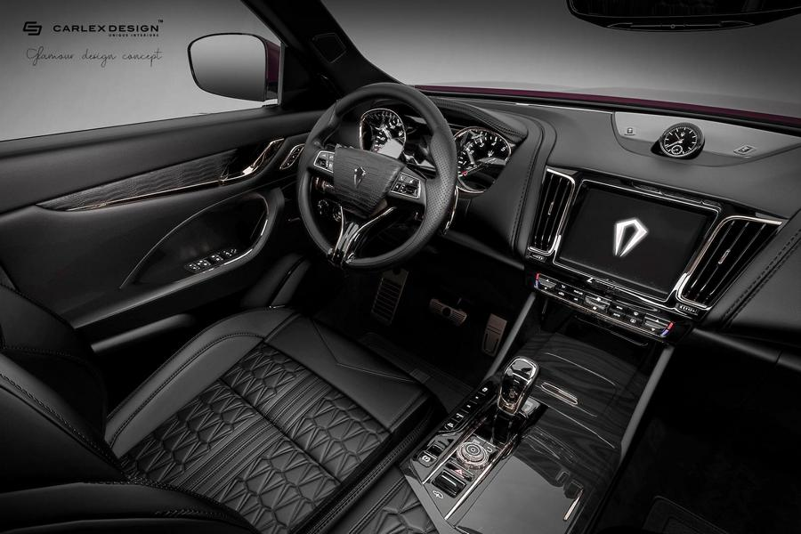 Carlex Design Maserati Levante Interieur 6 Black Beauty   Carlex Design Maserati Levante Interieur