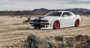 Dodge Challenger Hellcat Widebody Clinched Ferrada Wheels Mopar 14 310x165 Brutal breit & tief: Clinched Widebody Lexus 2is Limo