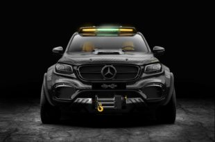 EXY Monster X Concept Mercedes X Klasse W470 Tuning Carbon 1 310x205 The King   EXY Monster X Concept Mercedes X Klasse
