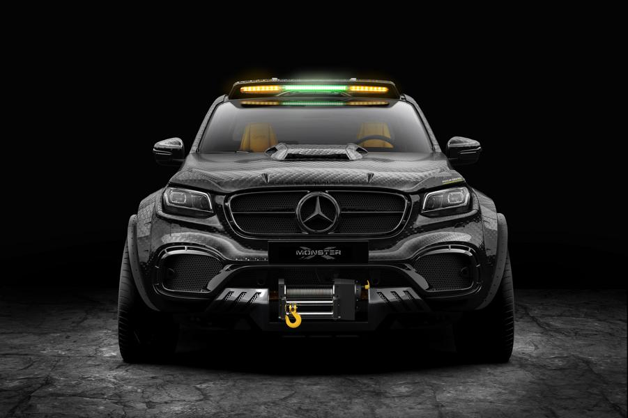 EXY Monster X Concept Mercedes X Klasse W470 Tuning Carbon 1 The King   EXY Monster X Concept Mercedes X Klasse