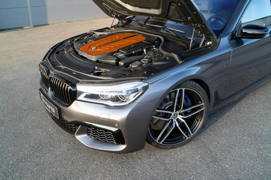 G POWER BMW M760Li xDrive G11 G12 Tuning 7 Luxusdampfer mit 700 PS: G POWER BMW M760Li xDrive
