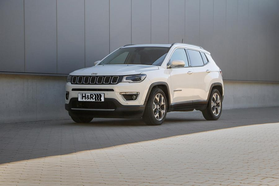HR Sportfedern Jeep Compass 4WD Tuning 1 The Italian Stallion: H&R Sportfedern im Jeep Compass 4WD