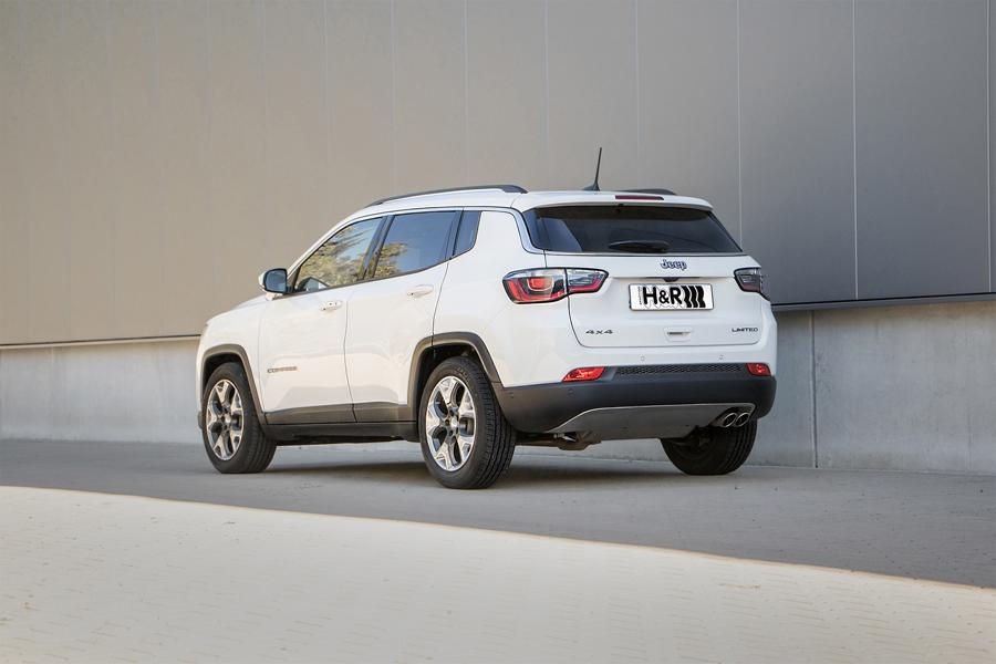 HR Sportfedern Jeep Compass 4WD Tuning 2 The Italian Stallion: H&R Sportfedern im Jeep Compass 4WD