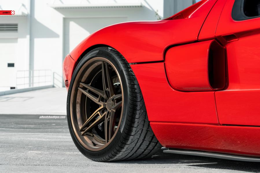 Heffner BiTurbo Ford GT ANRKY AN37 Wheels Tuning 16 Heffner BiTurbo Ford GT mit +1.000 PS und ANRKY Wheels