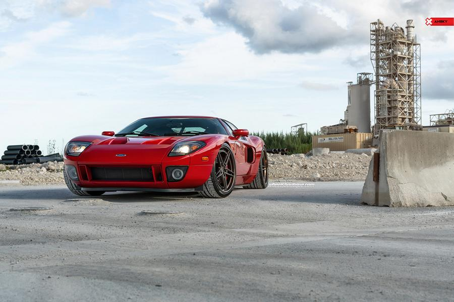 Heffner BiTurbo Ford GT ANRKY AN37 Wheels Tuning 24 Heffner BiTurbo Ford GT mit +1.000 PS und ANRKY Wheels